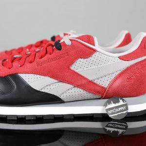 SAMPLE 2013 Reebok x Stash Classic Leather Red Blk